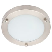 Forum Delphi 12w Small LED - Satin Nickel)