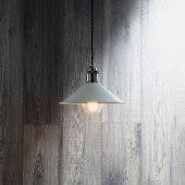 Forum Rigel Small Ceramic Diner Shade - Grey)