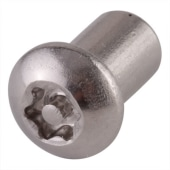 Hafren 6-Lobe Barrel Nuts - M6 x 12mm - Button Head - Pack 50)