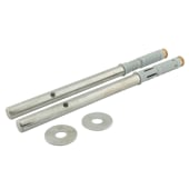 ION Floating Shelf Support Concealed Fixings - 150mm - Pack 2)
