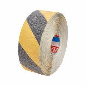 Tesa 60951 Safe Footing Anti-Slip Tape - 50mm x 15m - Black / Yellow)
