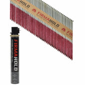 TIMco 34° FirmaHold Clipped Head Nail and Gas - First Fix - 3.1 x 90mm - FirmaGalv - 1 Fuel Cell)