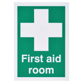First Aid Room Sign)