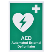 AED - Automated External Defibrillator Sign)