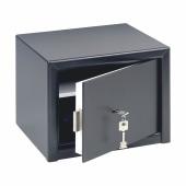 Burg Wächter H 3 S HomeSafe Key Operated Safe - 257 x 347 x 298mm - Black)