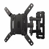 SECURA Wall Mount TV Bracket for 10-39 Inch TV's - Full Motion Dual-Arm)
