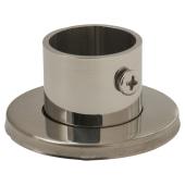Rothley Endurance Tube End Socket With Locking Grub Screw - 25mm - Polished Stainless Steel )