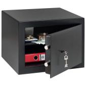 Burg Wächter H 1 S HomeSafe Key Operated Safe - 278 x 402 x 376mm - Black)