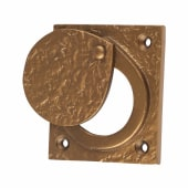 Olde Forge Cylinder Latch Cover - 67 x 58mm - Antique Bronze)