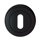 Carlisle Brass Escutcheon - Keyhole - Black Nickel)