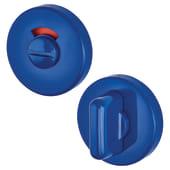 Hoppe Paris Coloured Nylon Bathroom Turn and Release 52 x 9mm - Cobalt Blue)