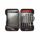 TIMco Addax HSS & Masonry Drill Bit Set)