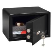 Burg Wachter PointSafe Key Operated Safe - 180 x 280 x 200mm - Black)