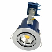 Forum Yate Adjustable LED Fire Rated Downlight - Chrome)