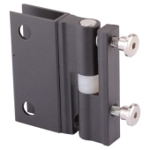 Pro Self Closing Hinge - Black Textured - 12-13mm Panels)