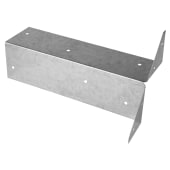 Arris Rail Fence Bracket - Galvanised - 300mm)