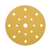 Mirka Gold Discs 17 Hole Multi Format - 125mm - Grit 80 - Pack 50)