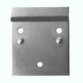 Offset Wall Plate - 70 x 60mm - Zinc Plated Steel - Pack 10)