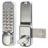 Codelocks CL100 Surface Deadbolt - Stainless Steel)