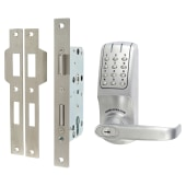 Codelocks CL5020 Electronic Lock - Brushed Steel)