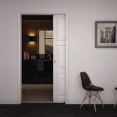 KLÜG Ultra Pocket Door Kit - 120mm Finished Wall Thickness - 915mm Maximum Door Width)