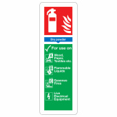 Dry Powder Extinguisher - 280 x 90mm)