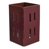 Taurus Fence Post Extender - 100mm - Oxide Red)