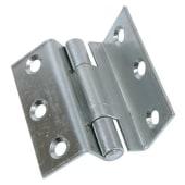 Storm Proof Casement Hinge - 63mm - Bright Zinc Plated - Pair)