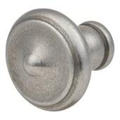 Crofts & Assinder Nottingham Iron Cabinet Knob - 40mm - Iron Lacquer)