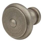 Crofts & Assinder Nottingham Iron Cabinet Knob - 30mm - Iron Lacquer)