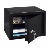 Burg Wächter P 3 S PointSafe Key Operated Safe - 320 x 442 x 350mm - Black)