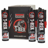 Soudal T-Rex - Grab Adhesive - Solvent Based - Pack 12)