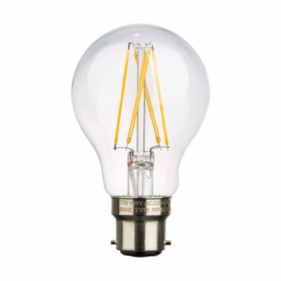 7W B22 GLS Filament Lamp - Dimmable - 2700K