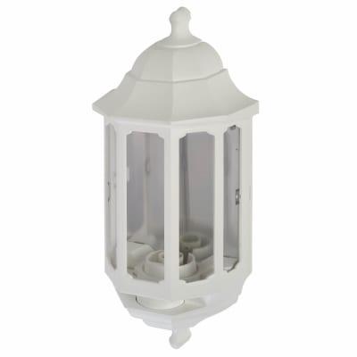 ASD Lighting Half Coach Lantern - White