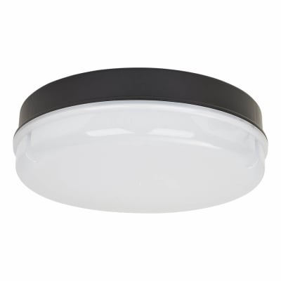 LED Round Bulkhead - IP65 - Black Opal