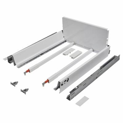 Blum TANDEMBOX ANTARO Pan Drawer - BLUMOTION Soft Close - (H) 203mm x (D) 500mm x (W) 300mm - White