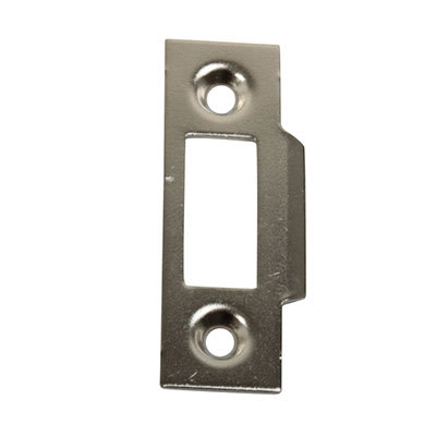 Slam Type Mortice Strike - 50 x 15mm - Chrome Plated - Pack 10