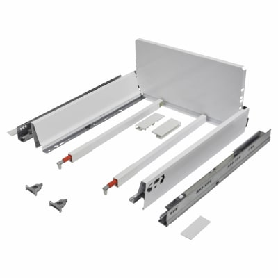 Blum TANDEMBOX ANTARO Pan Drawer - BLUMOTION Soft Close - (H) 203mm x (D) 350mm x (W) 500mm - White