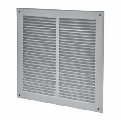 Vent Cover - 290 x 290mm to suit block 250 x 250mm - Silver