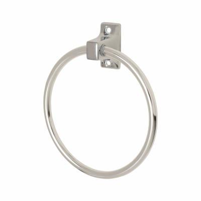 Croydex Sutton Towel Ring - 170mm - Polished Chrome