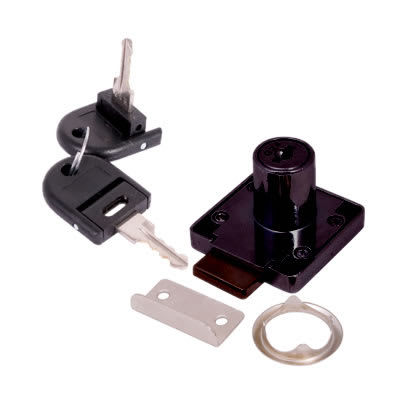 Cylinder Deadbolt - 19 x 32mm - Keyed to Differ - Black Nickel
