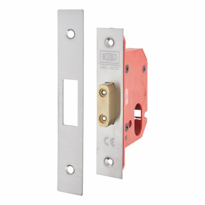 UNION® 21OVS StrongBOLT Oval Profile Deadlock - 81mm Case - 57mm Backset - Stainless Steel