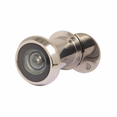Steelworx SWE1010 Stainless Steel Large Door Viewer 200 Deg - Polished Chrome