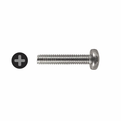 Machine Screw - Pan Head - M4 x 20mm - Pack 25
