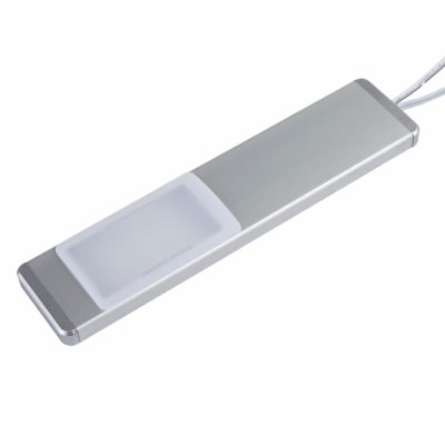 Leyton LED Linear Under Cabinet Downlight - 150 x 35 x 9mm - Satin Silver