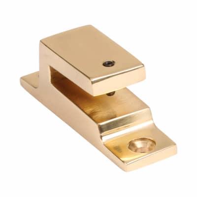 Hampstead Long Locking Keep - Polished Brass