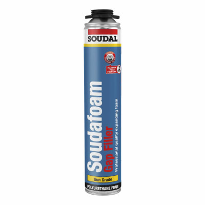 Soudal Soudafoam Gap Filler - 750ml - Gun Grade