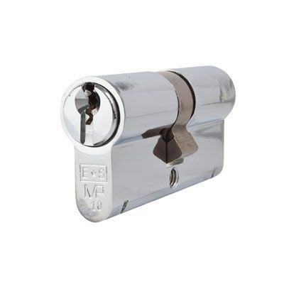Eurospec MP10 - Euro Double Cylinder - 32 + 32mm - Polished Chrome  - Keyed Alike