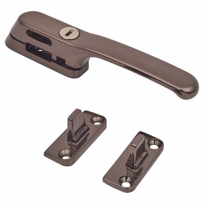 Fab & Fix Craftsman Casement Fastener Locking - Bronze