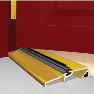 Exitex Narrow Slimline Threshold - 914mm - Inward/Outward Opening Doors - Gold